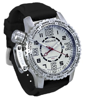 Millage Moscow Collection - W-BLK-SILICON