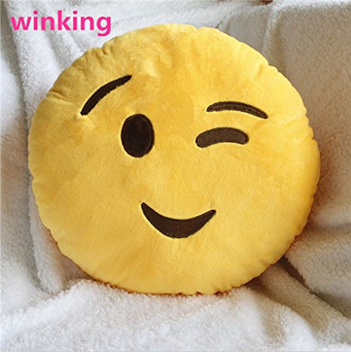 hot-toy-emoji-smiley-emoticon-yellow-round-cushion-pillow-stuffed-plush-soft-color-winking