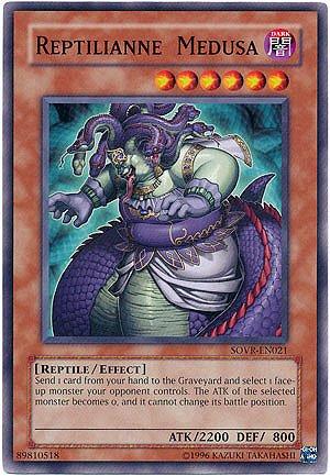 Yu-Gi-Oh! - Reptilianne Medusa (SOVR-EN021) - Stardust Overdrive - 1st Editio...