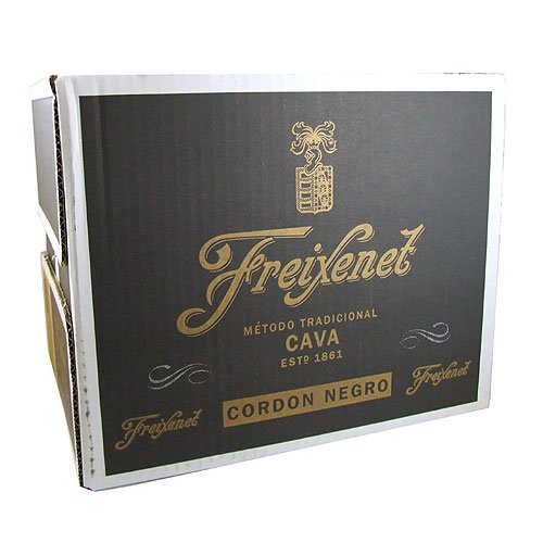 Freixenet Cava Cordon Negro Sparkling Wine 20cl Bottle - 12 Pack