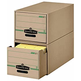 Bankers Box Stor/Drawer 100% Recycled Storage Drawers, Letter, 6 Pack (00211)