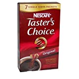 Nescafe Tasters Choice 100% Pure Instant Coffee Sticks, Regular - 0.07 Oz, 7 Pieces / Pack
