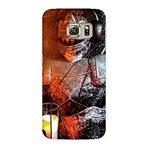 Ajay Enterprises Suit of Warrior Knight Back Case Cover for Samsung Galaxy S6 Edge