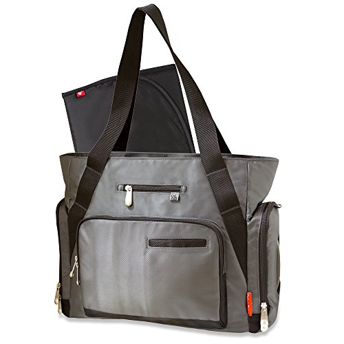 Fisher-Price Fastfinder Grey Fashion Tote