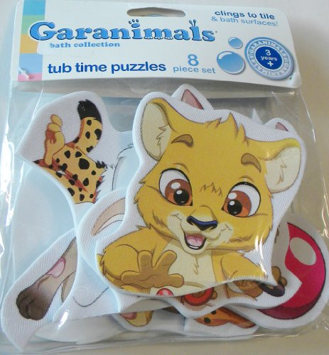 Garanimals Baby Bath Tub Time Puzzle - 8 Pieces