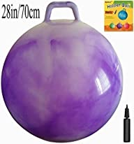 Space Hopper Ball with Air Pump: 28in…