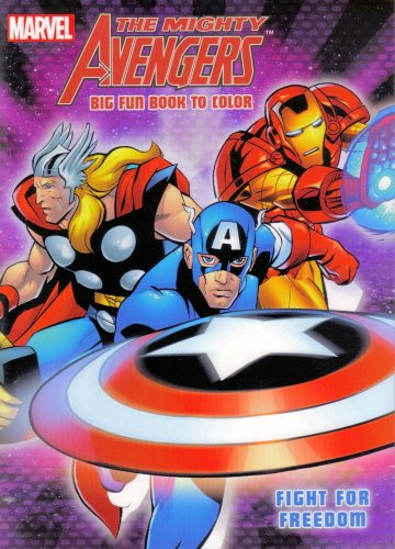 Mighty Avengers Coloring Book (1 book out of 3 assorted) - 1