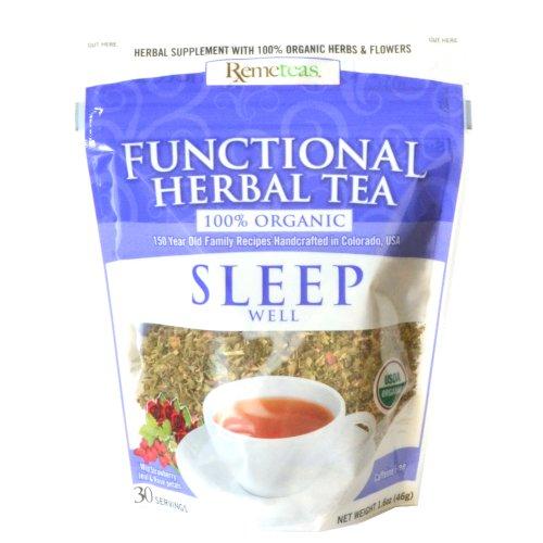 Sleep Well By Remeteas Functional Herbal Tea Medicinal