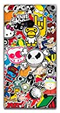 The Racoon Lean Sticker Bomb hard plastic printed back case / cover for Nokia Lumia 730