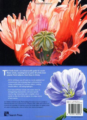 The Acrylic Flower Painter's A-Z