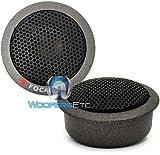 Focal Polyglass 165 VRS 6.5-Inch 2-Way Shallow-Mount Component Speaker Kit