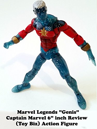 "Marvel Legends Genis CAPTAIN MARVEL 6""inch Review (Toy Biz) action figure"