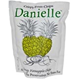 Danielle Crispy Fruit Chips, Tangy Pineapple (6x2Oz )