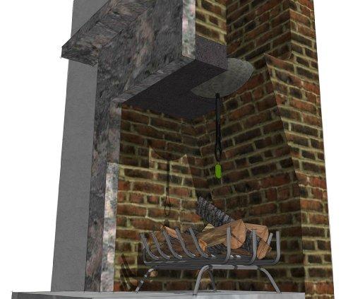 12 inch chimney draught excluder at shop ireland. Black Bedroom Furniture Sets. Home Design Ideas