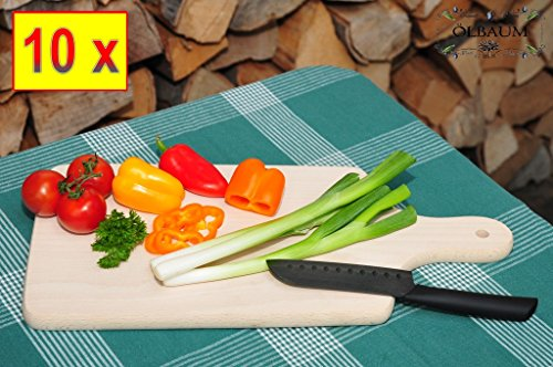 10-Grill-Pizzabrett-splmaschinenfest-Pizzateller-Holz-natur-je-ca-35-cm-x-16-cm-Brotzeitbrett-mit-Griff-Naturholz-Rotbuche-unbehandelt-Grillbrett-als-Raclette-Pita-Dner-Naan-ServierbrettRoti-Ciabatta-