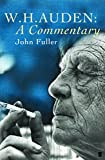 W.H. Auden: A Commentary