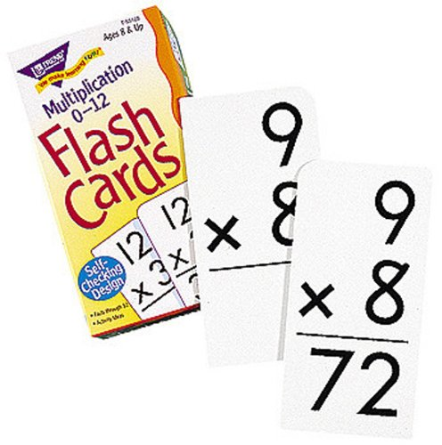 FLASH CARDS MULTIPLICATION 91/BOX - 1