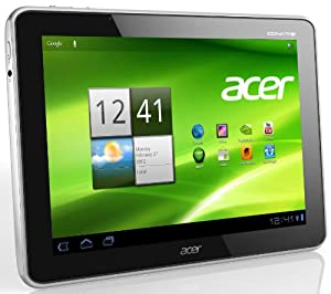 Acer Iconia A511 25,7 cm (10,1 Zoll) Tablet-PC (Nvidia Tegra 3, 1,3GHz, 1GB RAM, 32GB eMMC, Android 4,0, UMTS) schwarz