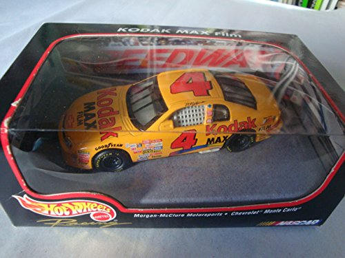Hot Wheels Racing Kodak Max Film Morgan-mcclure Motorsports - Chevrolet Monte Carlo 1:43 Scale Diecast Replica