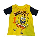 Nickelodeon Spongebob Squarepants Jersey Print Toddler Boys Shirt (5T)