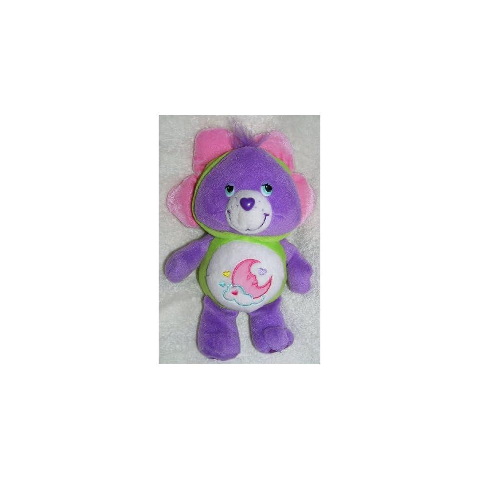 2006 Care Bears Natural Wonders 8 Plush Sweet Dreams Bear Bean Bag Doll