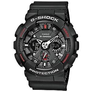 Men's Black G-Shock Analog Digital Anti-Magnectic (model number GA-120-1ACR)