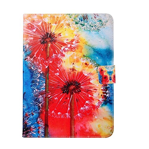 Best Price! Daminfe Galaxy Tab 4 10.1 inch T530 T531 T535 Case, Colorful Pattern PU Leather Flip Pro...