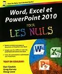 Word, Excel et PowerPoint 2010 pour l...