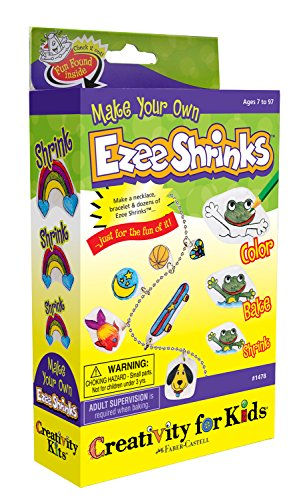 Creativity For Kids Boys Creativity for Kids Make Your Own Shrinky Dinks Activity