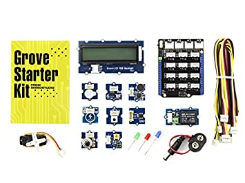 Angle Grove - Starter Kit For Arduino - Modular Electronic Platform For Quick Prototyping. Every Module Has One Function, Such As Touch Sensing, Creating Audio Effect. Optimize The Internal Slot Structure