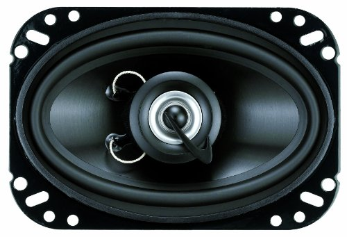 Planet Audio Tq462 4-Inch X 6-Inch 2-Way Speaker System Poly Injection Cone (Black)