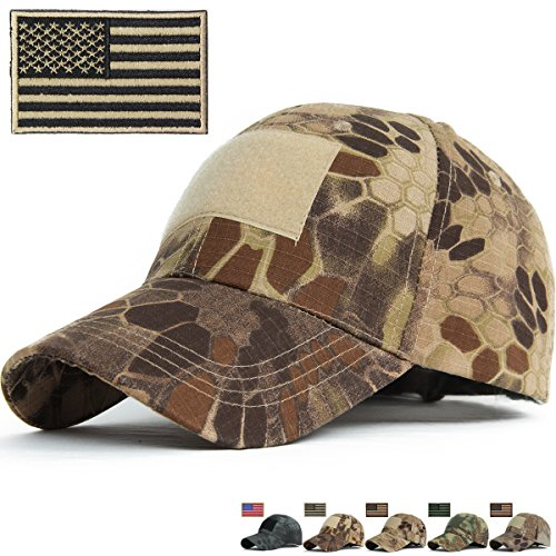R&S Snake Camouflage Baseball Hats Fitted for Hunting Shooting Tactical Military B002 (Fitted Low Profile Tactical Hat compare prices)