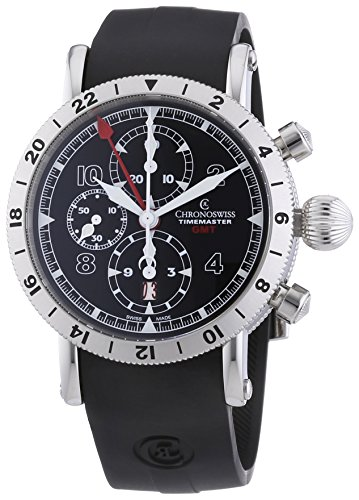 chronoswiss-timemaster-gmt-mens-automatic-watch-with-black-dial-chronograph-display-and-black-strap-