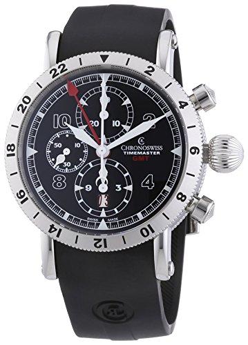 chronoswiss-timemaster-gmt-herren-automatik-uhr-mit-schwarzem-zifferblatt-chronograph-anzeige-und-sc
