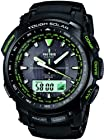 Casio Protrek Tough Solar Radio Clock Multiband 6 PRW-5100-1BJF Men's Watch Japan Import