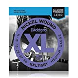 D'Addario EXL115BT 11-50 Balanced Tension Regular Light Nickel Wound Electric Guitar Strings