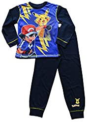 Pokemon Pikachu Ash Pyjamas 7 to 12 Years COMPUTER GAME PJ Pokemon Go W16