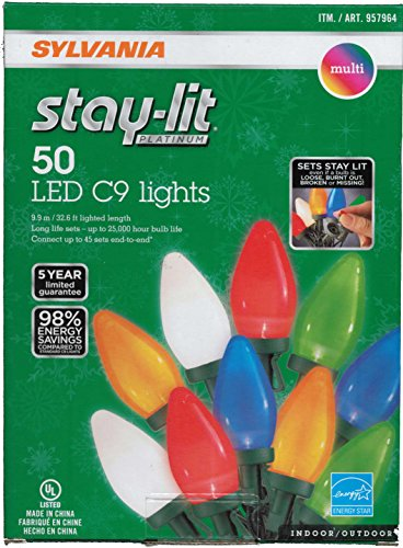 Sylvania-Stay-Lit-Platinum-Multicolor-LED-C-9-IndoorOutdoor-Holiday-Lights-50-lights-per-string