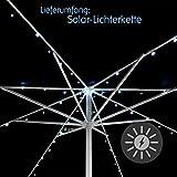 72-LED-Solar-Lichterkette-wei-fr-Sonnenschirm-8-Strnge--145-m-je-9-LED-mit-Funktionen-Sonnenschirmbeleuchtung