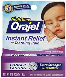 Orajel Teething Nightime Formula, 0.18 Ounce