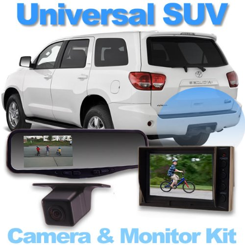 jkadsafd best price universal rear camera system for suv crossover and minivan with 4 3 video. Black Bedroom Furniture Sets. Home Design Ideas