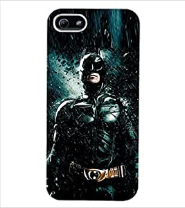 ColourCraft Superhero Design Back Case Cover for APPLE IPHONE 5S