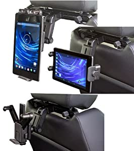 Navitech In-Car Easy Fit Back Of Seat Head Rest Mount For Tablets and e-Readers Including Kids Tablets Such As: Asus Google Nexus 7 Tablet, Asus TF300T 10.1-Inch, Asus Vivo Tab RT TF600T, Asus Eee Slate B121, tf100, tf101, tf200, tf201, tf300, tf301, tf400, tf401, tf500, tf501, tf600, tf601, tf700, tf701. Sale On All Asus Products!! OVER 66% OFF!!!