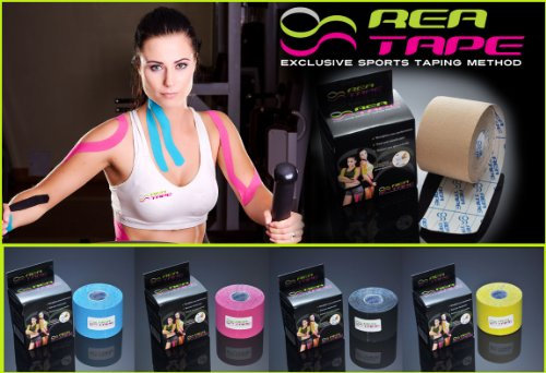 REA TAPE Kinesiology Sports Athletic Tape therapeutic taping