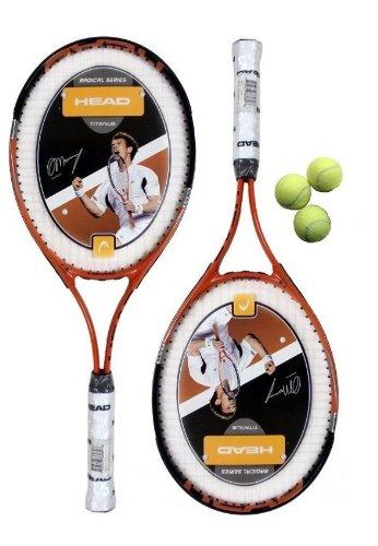 2 x Head Ti.Radical 27 Tennis Rackets & 3 Head Tennis Balls RRP £90