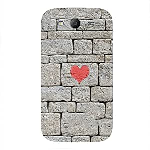 Back cover for Samsung Galaxy Grand Neo Wall Heart