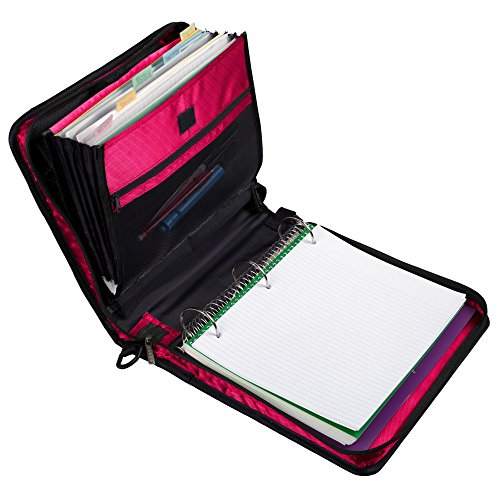 Five Star Zipper Binder With Expanding Pocket, 2 Inch, 3
