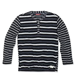 LITTLE BOYS Brooks Jersey Henley Hoodie