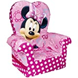 Marshmallow Children's Furniture - High Back Chair -Disney's Minnie Mouse Bow-tique