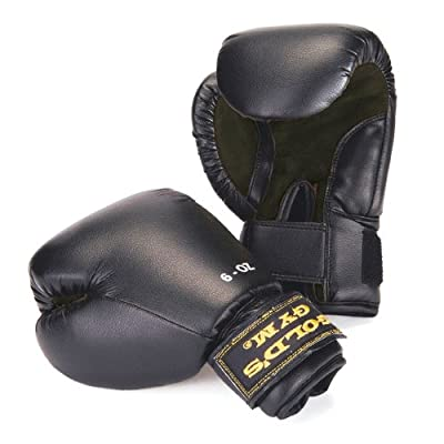 Golds Gym PU Sparring Gloves by Golds Gym